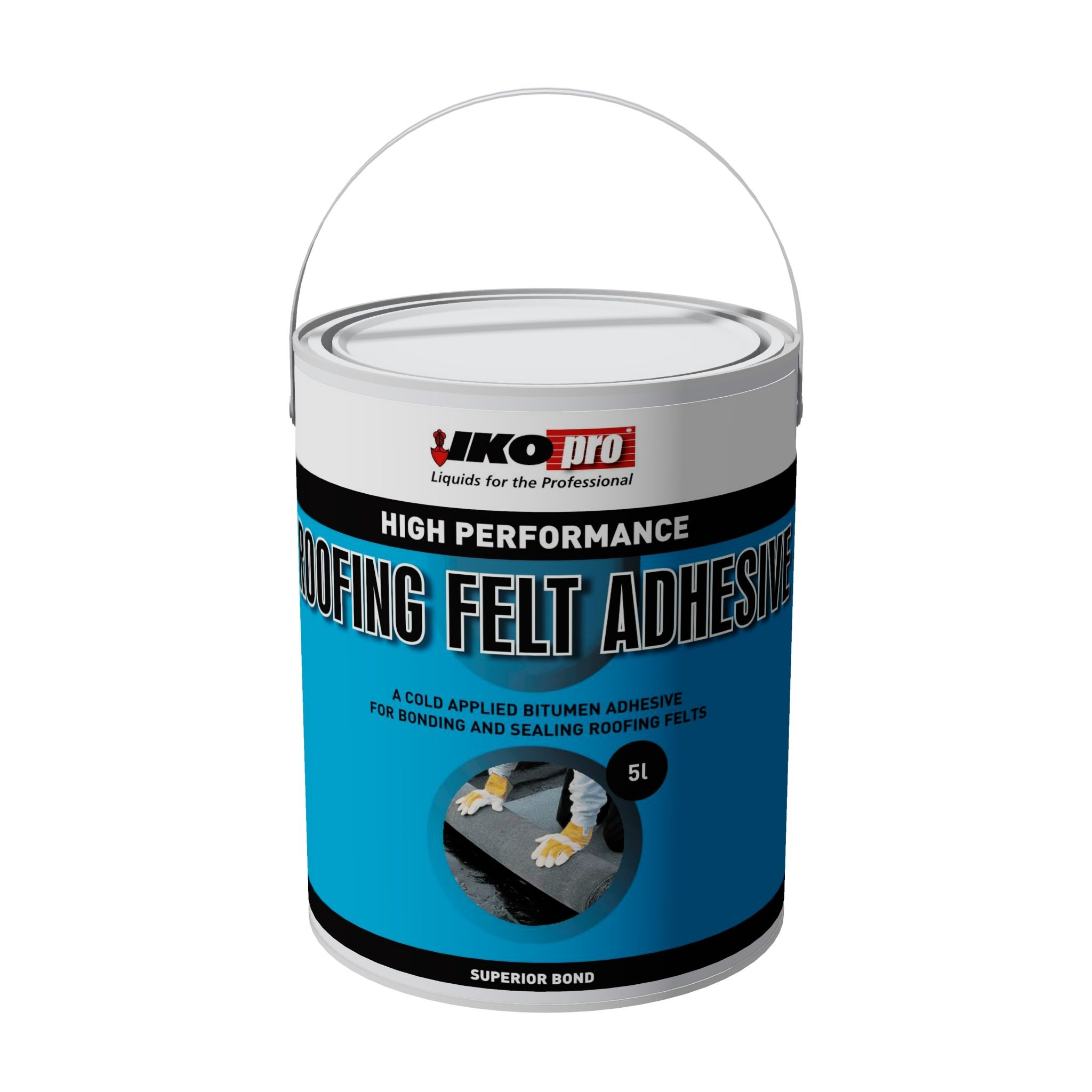 Iko-Pro Roofing Felt Adhesive 5Ltr