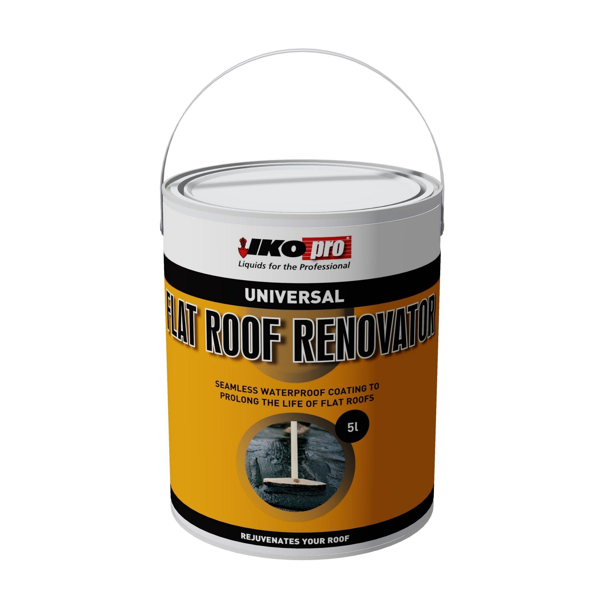 Iko-Pro Flat Roof Renovator 5Ltr
