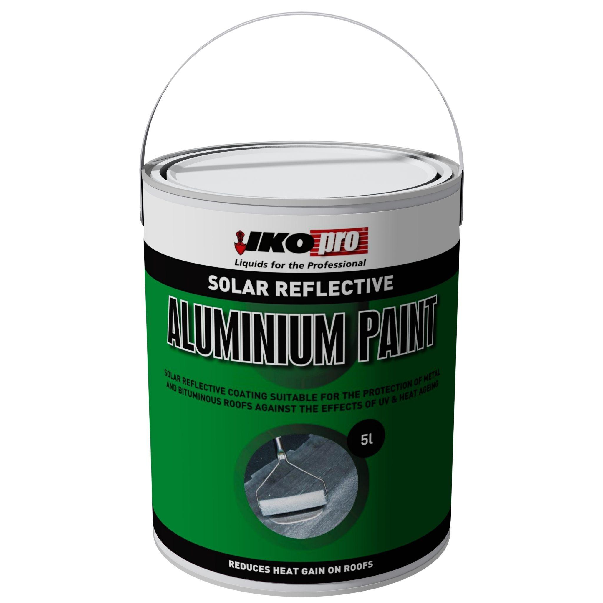 Iko-Pro Aluminium Solar Paint 5Ltr