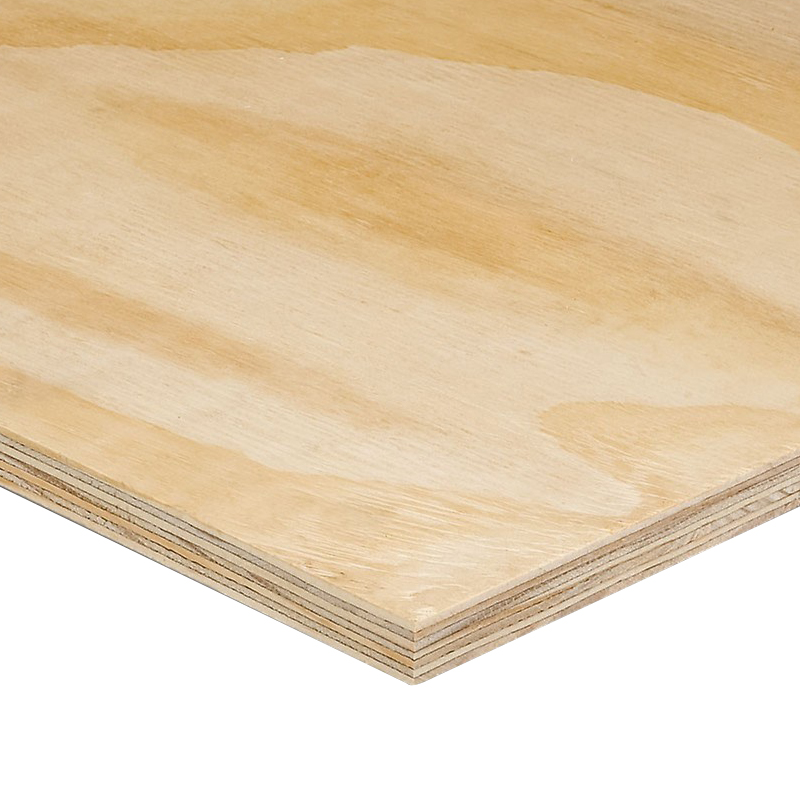 2440 x 1220 x 18mm Brazilian/S.African Elliottis Pine Plywood BS EN 636-2/314-2 Class 3