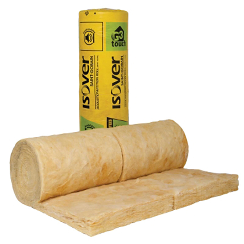 Isover Acoustic Roll 100mm 1.16x6.5mtr (7.5m2)