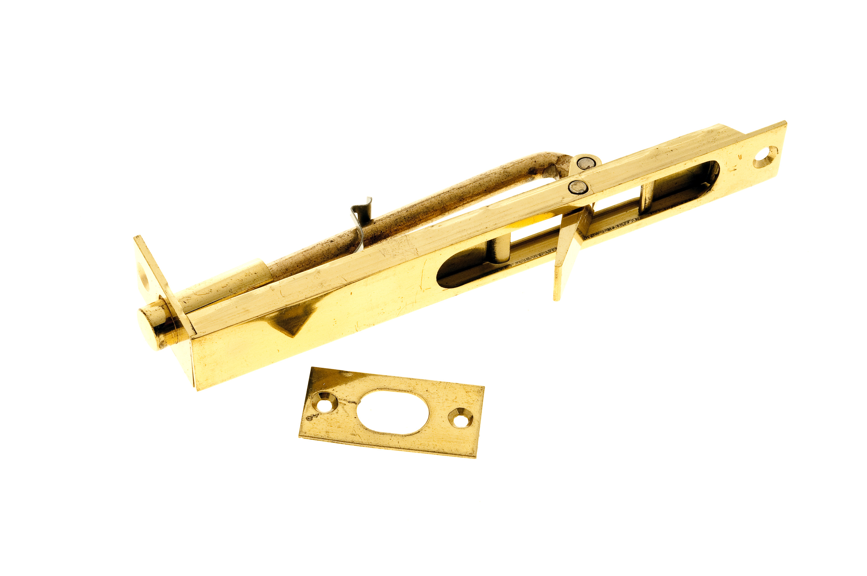 Flush Bolt 150mm Brass