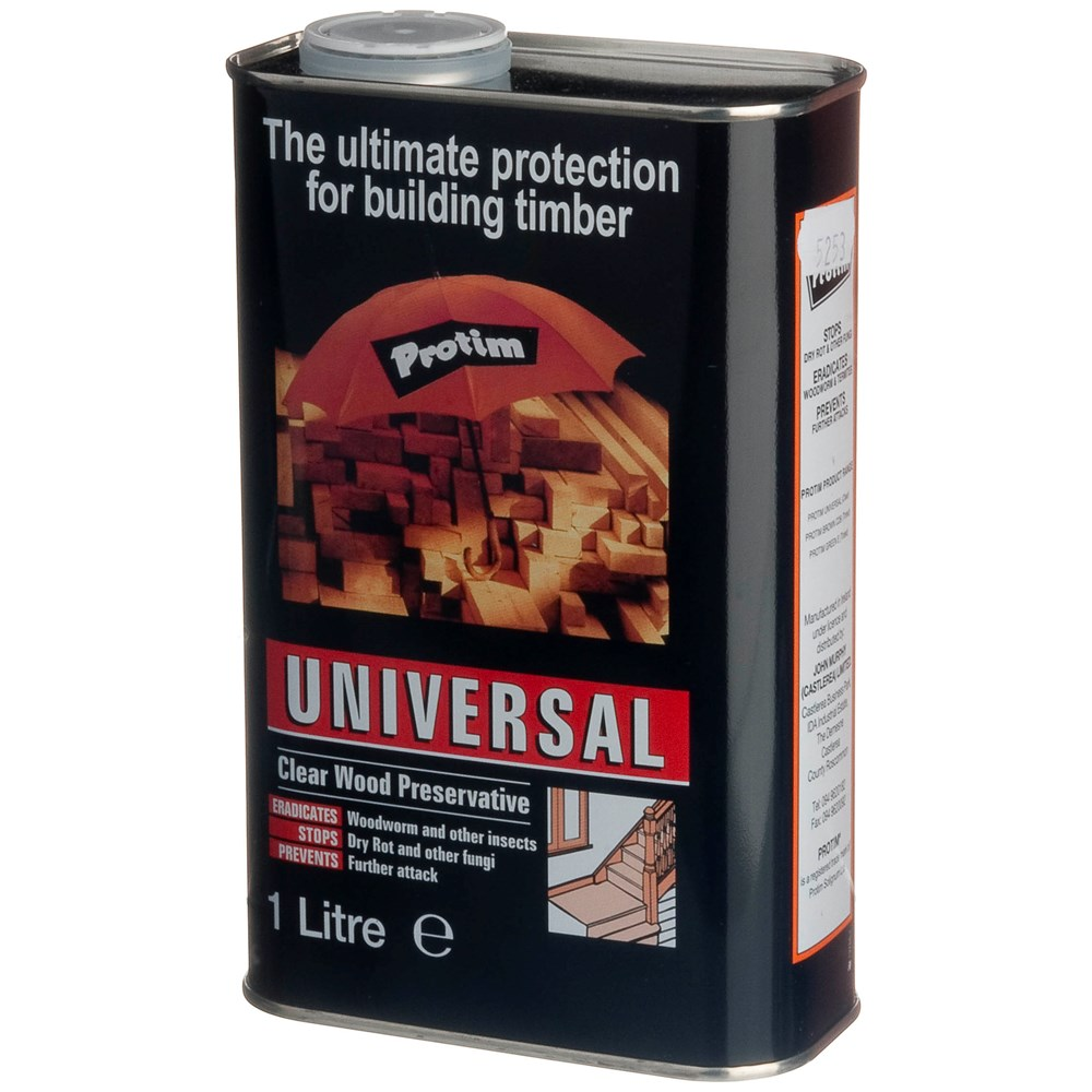 Universal Wood Treatment & Preserver Clear  1L