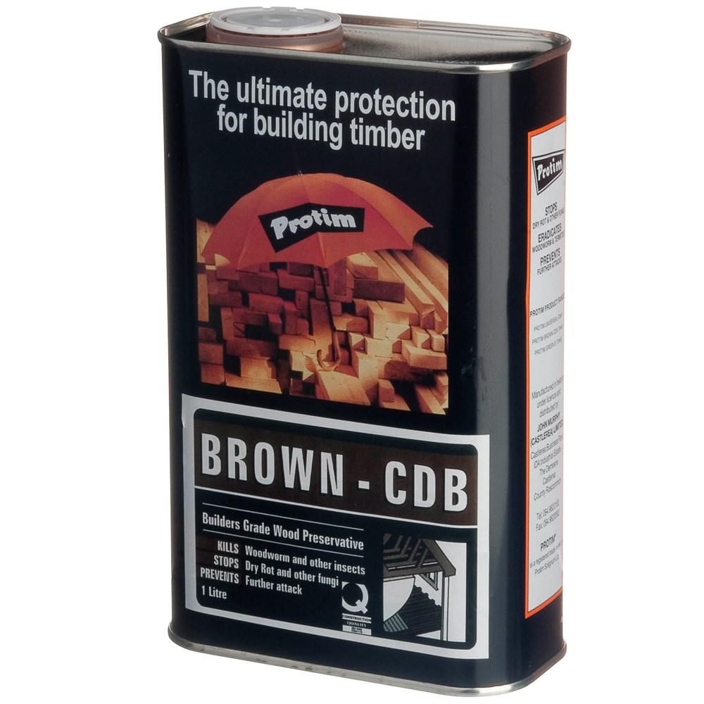 Construction Timber Preserver Tinted Brown   1L