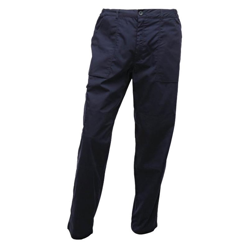 "Regatta Action Workwear Trouser Navy (32"" Long)"