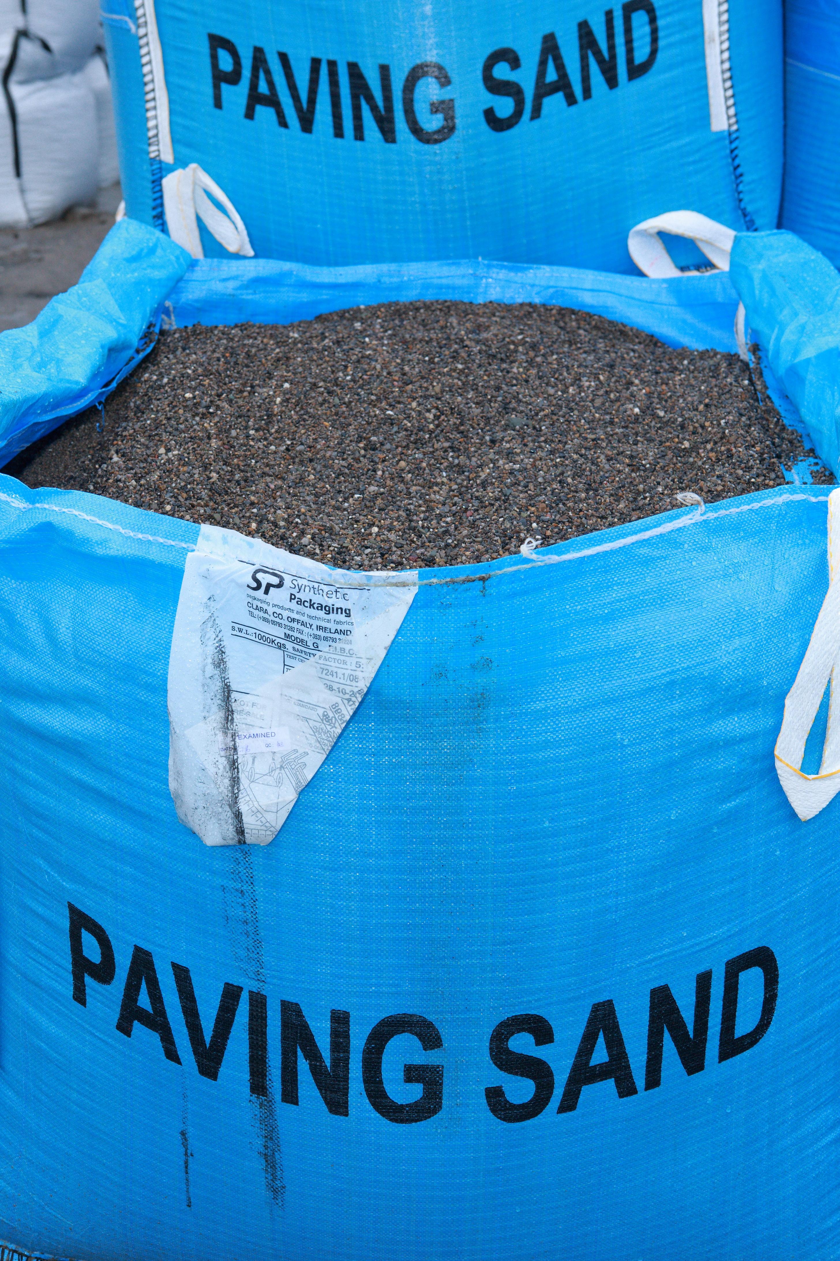 Paving Sand 1 Tonne Bag