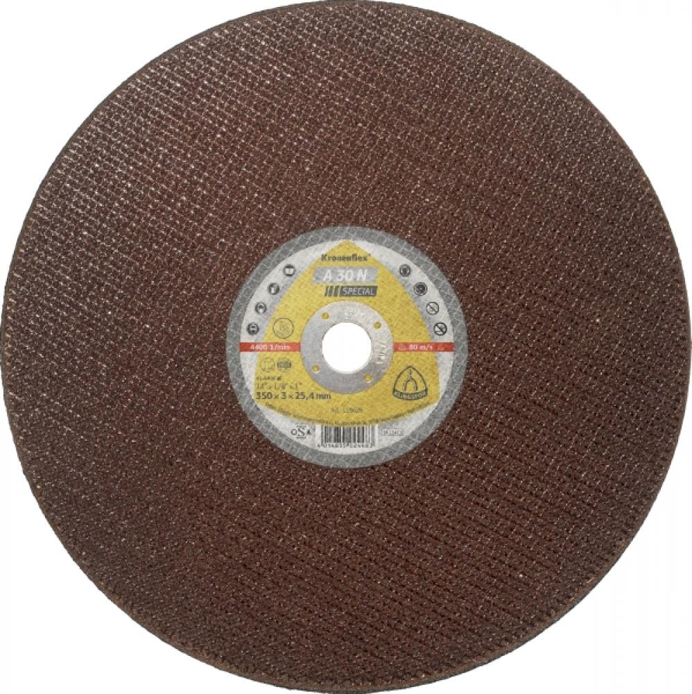 Steel Cutting Disc A30N Special 350x3x25.4 Flat (For Chopsaw)
