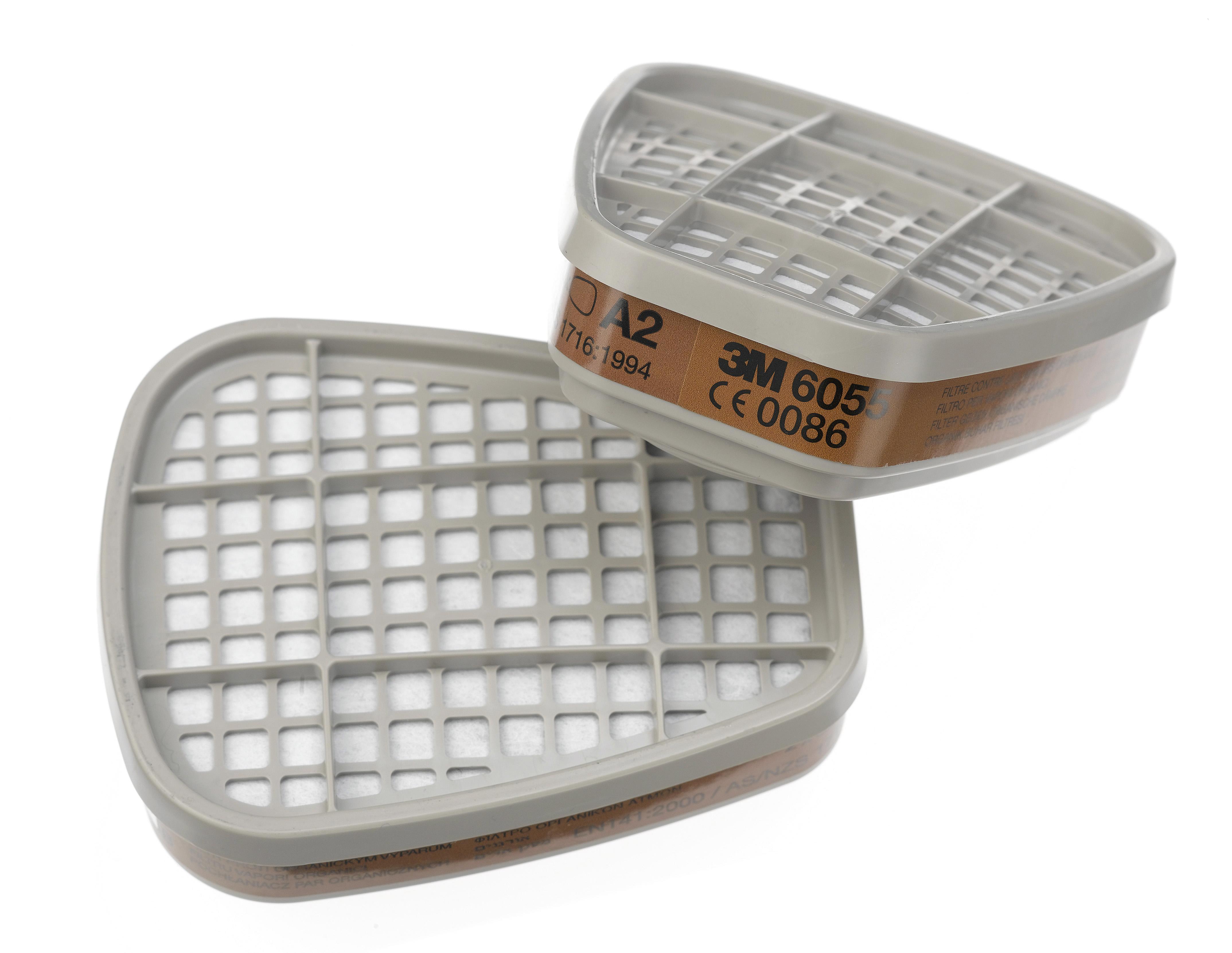 3M 6055 A2 Filter (2 Per Pack)