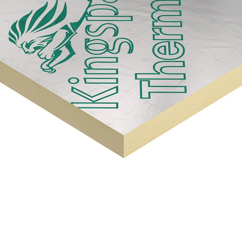 80mm Polyiso Underfloor Insulation (Sheet) 2.4m x 1.2m