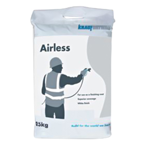 Knauf Airless Finish Projection Plaster 25kg