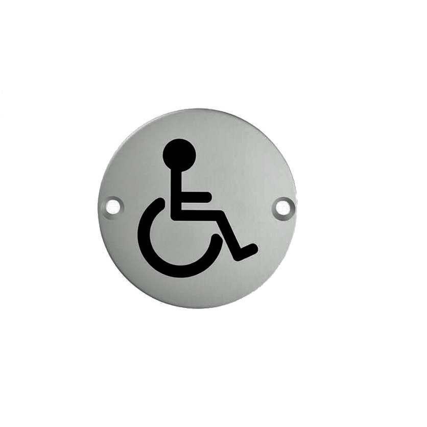 Disabled Symbol 75mm Disc SSS