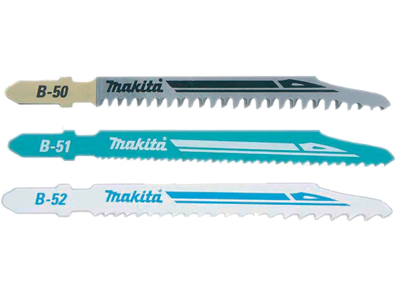 Makita Jigsaw Blade Selection Pack 3