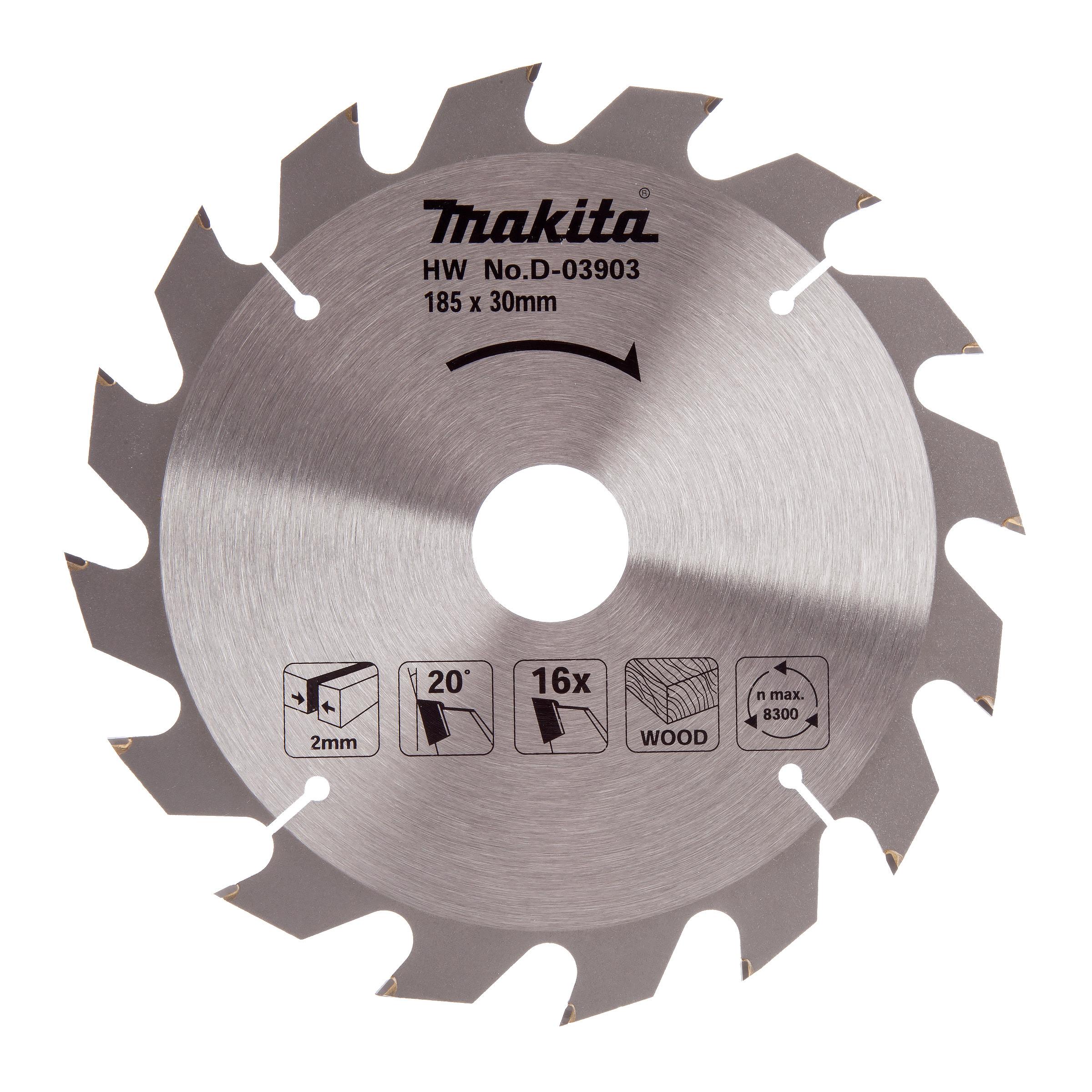 Makita 185x16Tx30mm Standard TCT Saw Blade