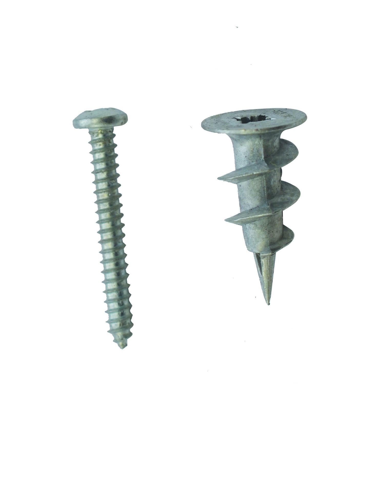 Rawl Trade Metal Self Drill Plasterboard Fixing (12pcs)