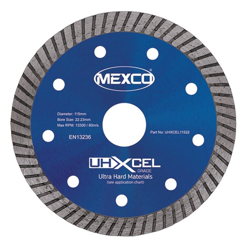 MEXCO 115mm Ultra Hard Materials Xcel Grade
