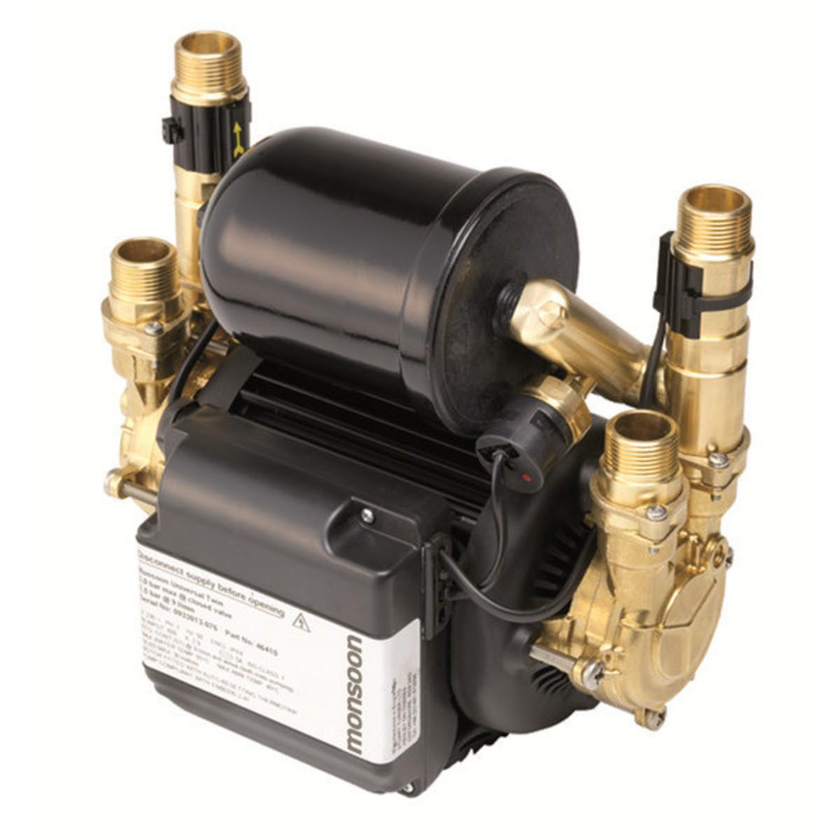 Monsoon 1.5bar Twin Universal Brass Pump