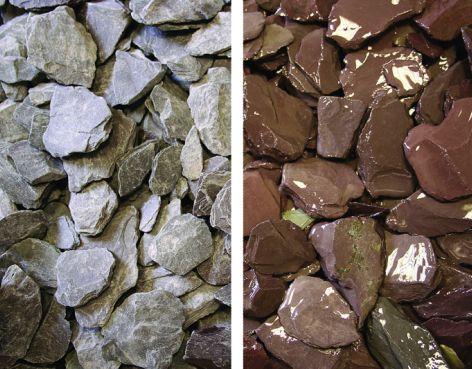 Decorative Stone Tonne Bag - Welsh Plum Slate
