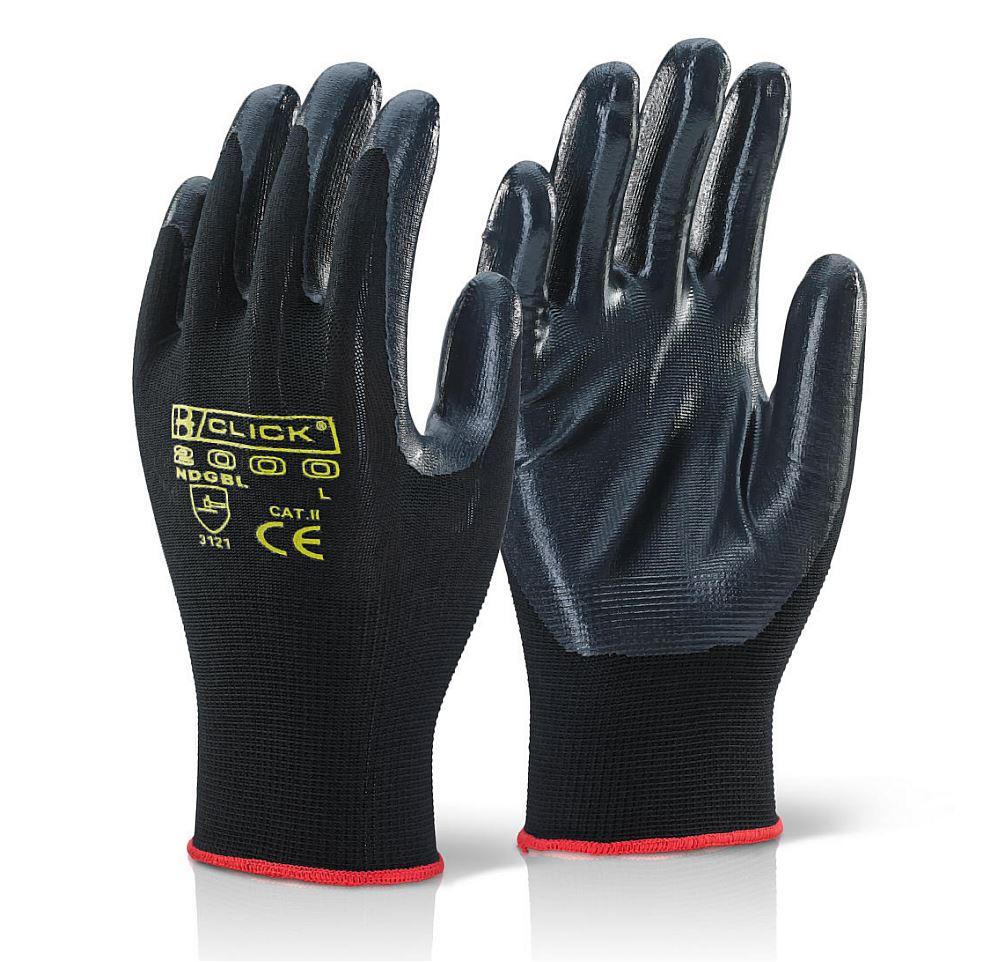 Nitrile Coated Glove M (Pair)