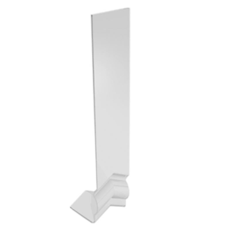 Ogee Angle Box Joiner 125 Degree White