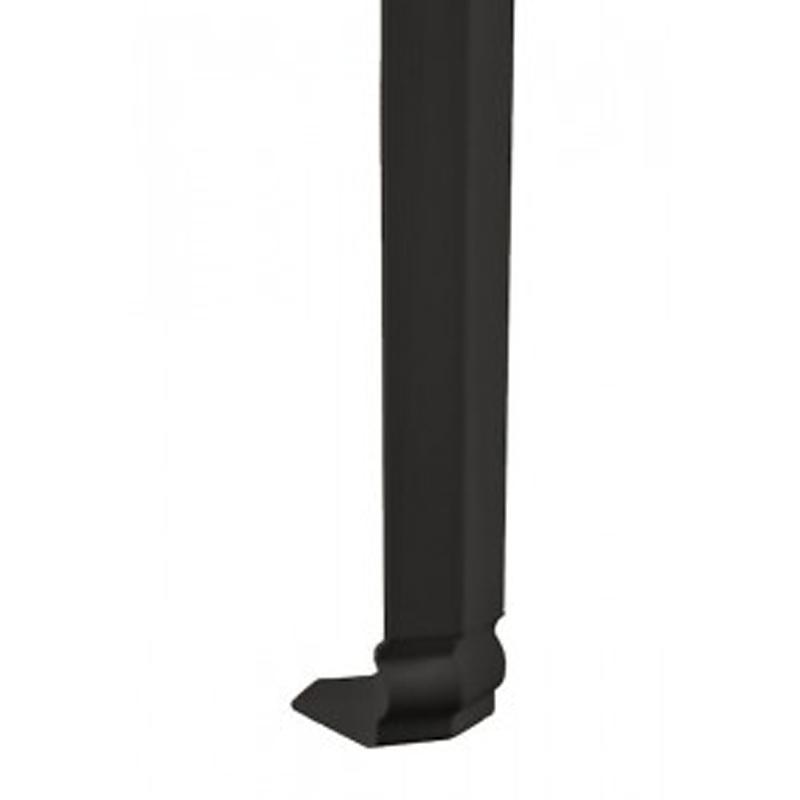 Ogee Fascia External Corner Black