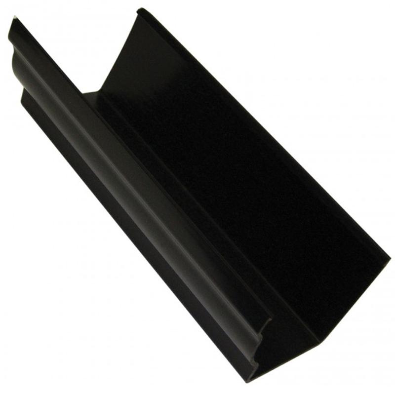 Ogee Gutter 4m Black