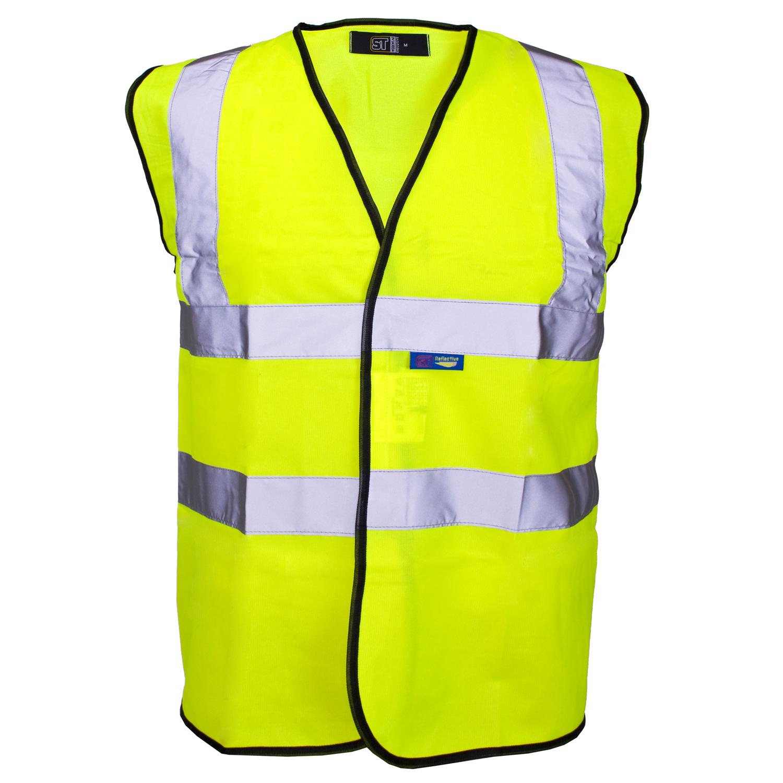 EN471 One Band Hi Vis Vest Large