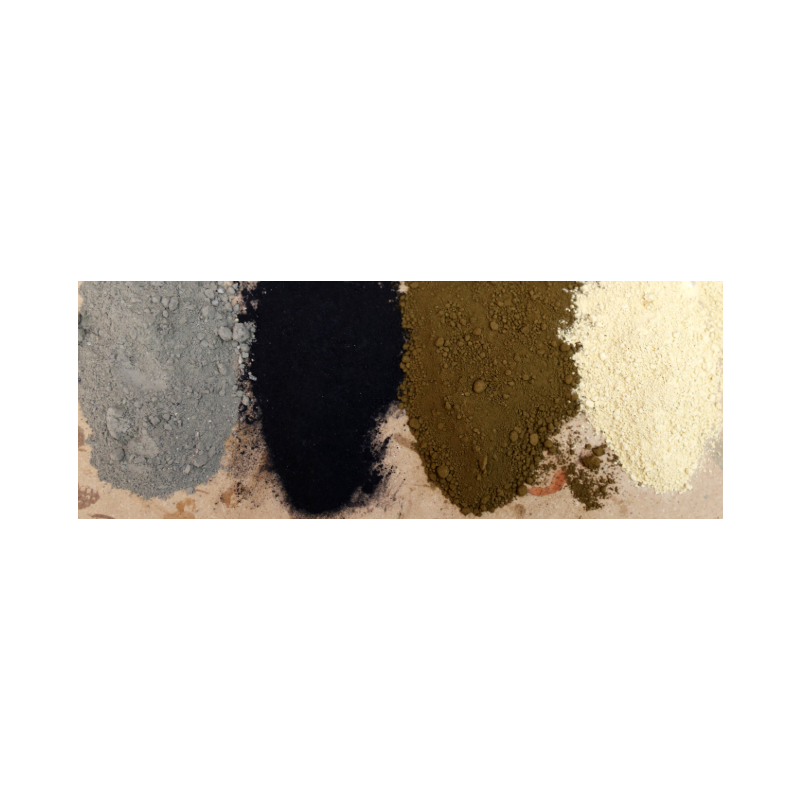 Sandstone Pigment = 10 Bags Adhesive