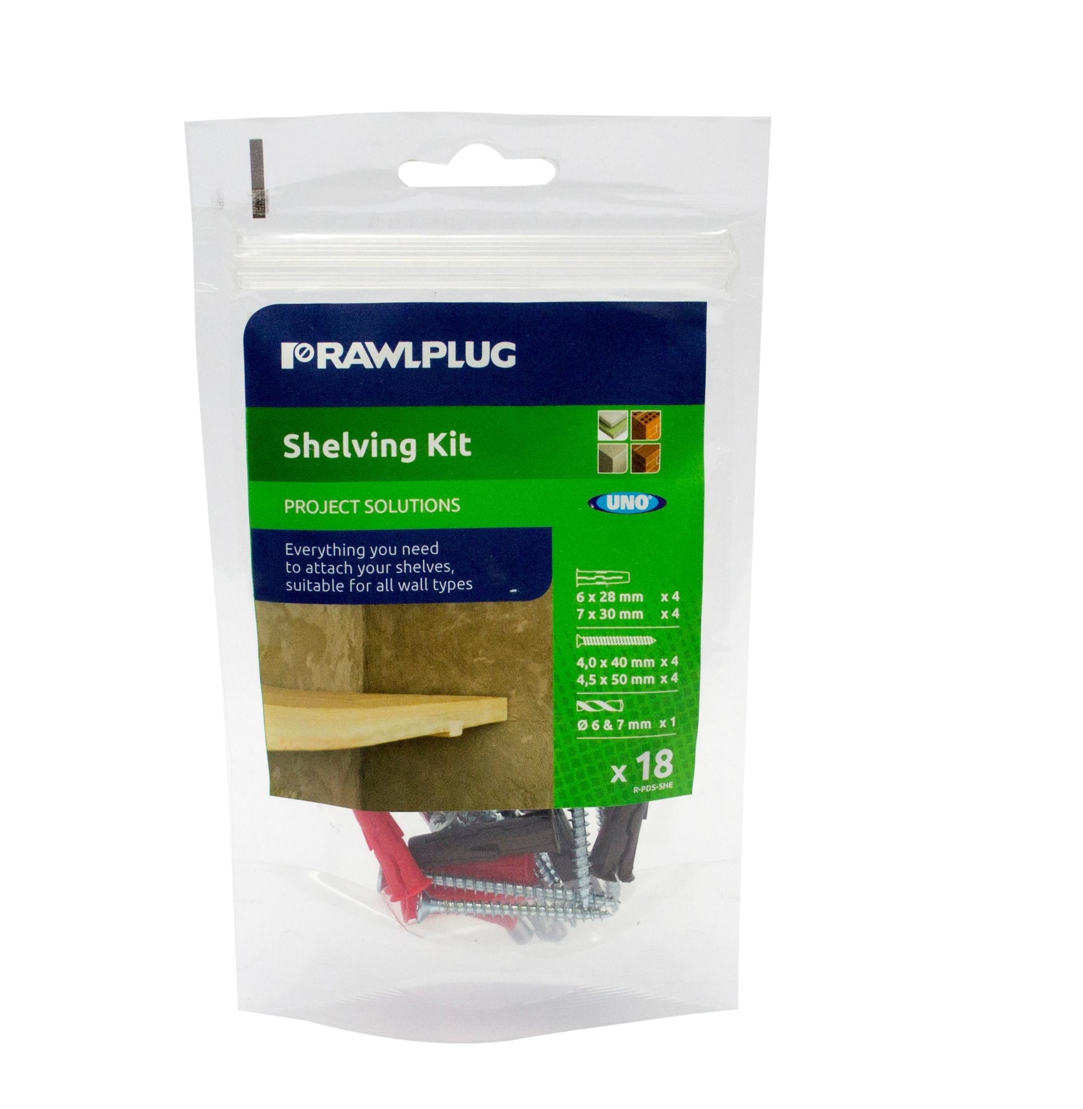Rawl Trade Shelving Kit
