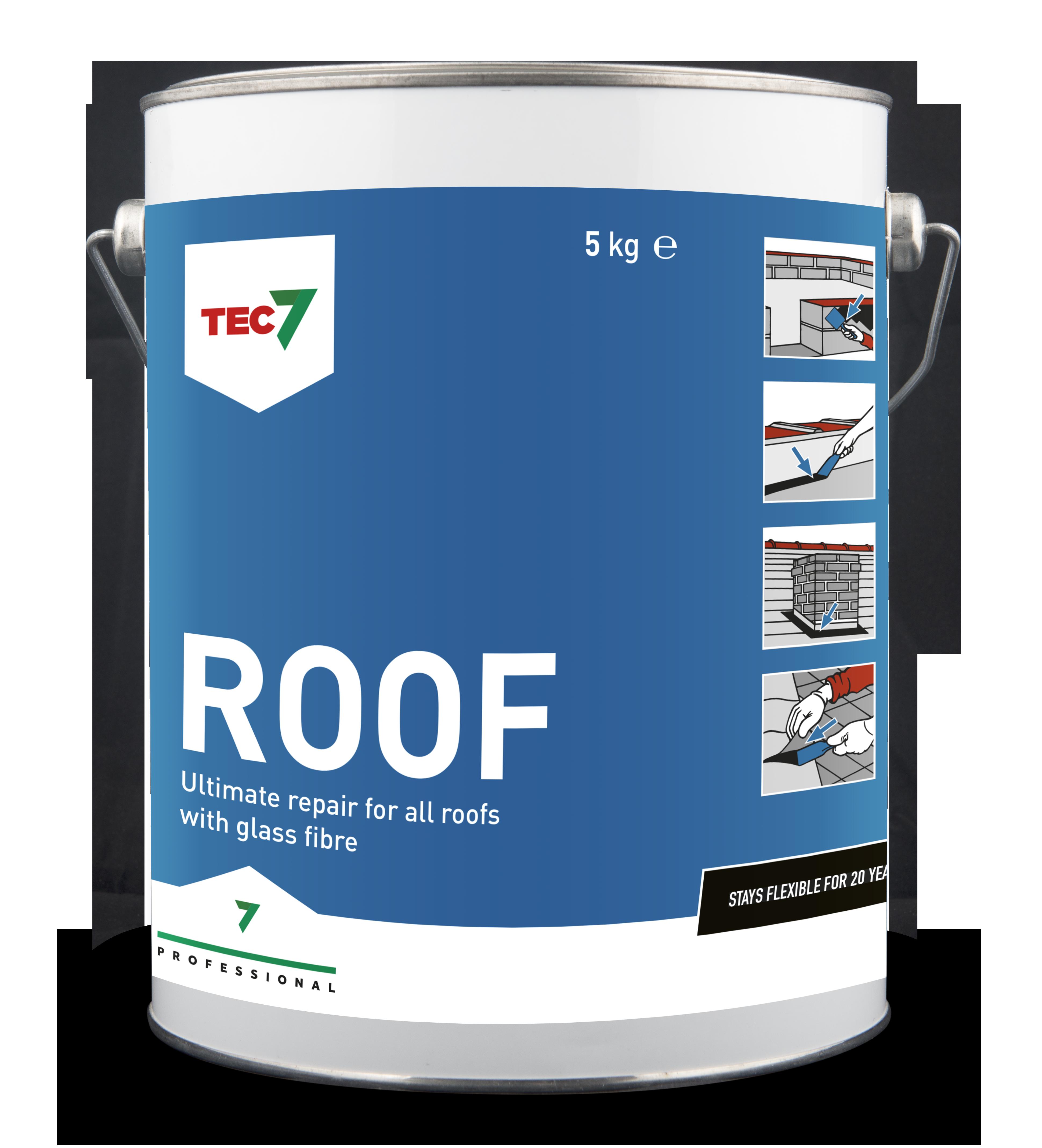 Roof7 Waterproof Sealing & Bonding 4.4 Litre