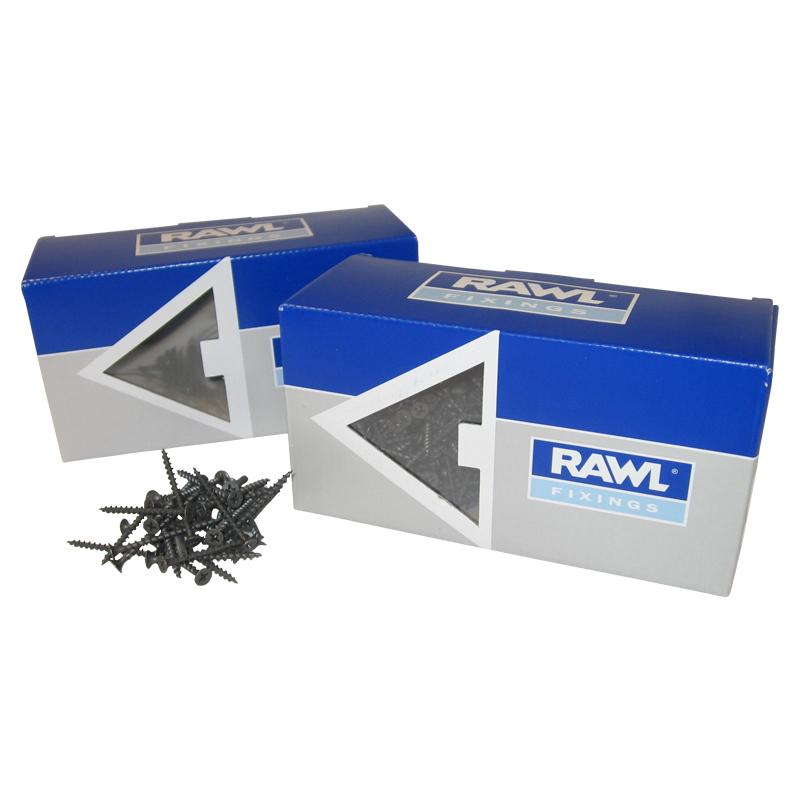 Rawl Trade Coarse Thread Drywall Screws 45mm (110pcs)