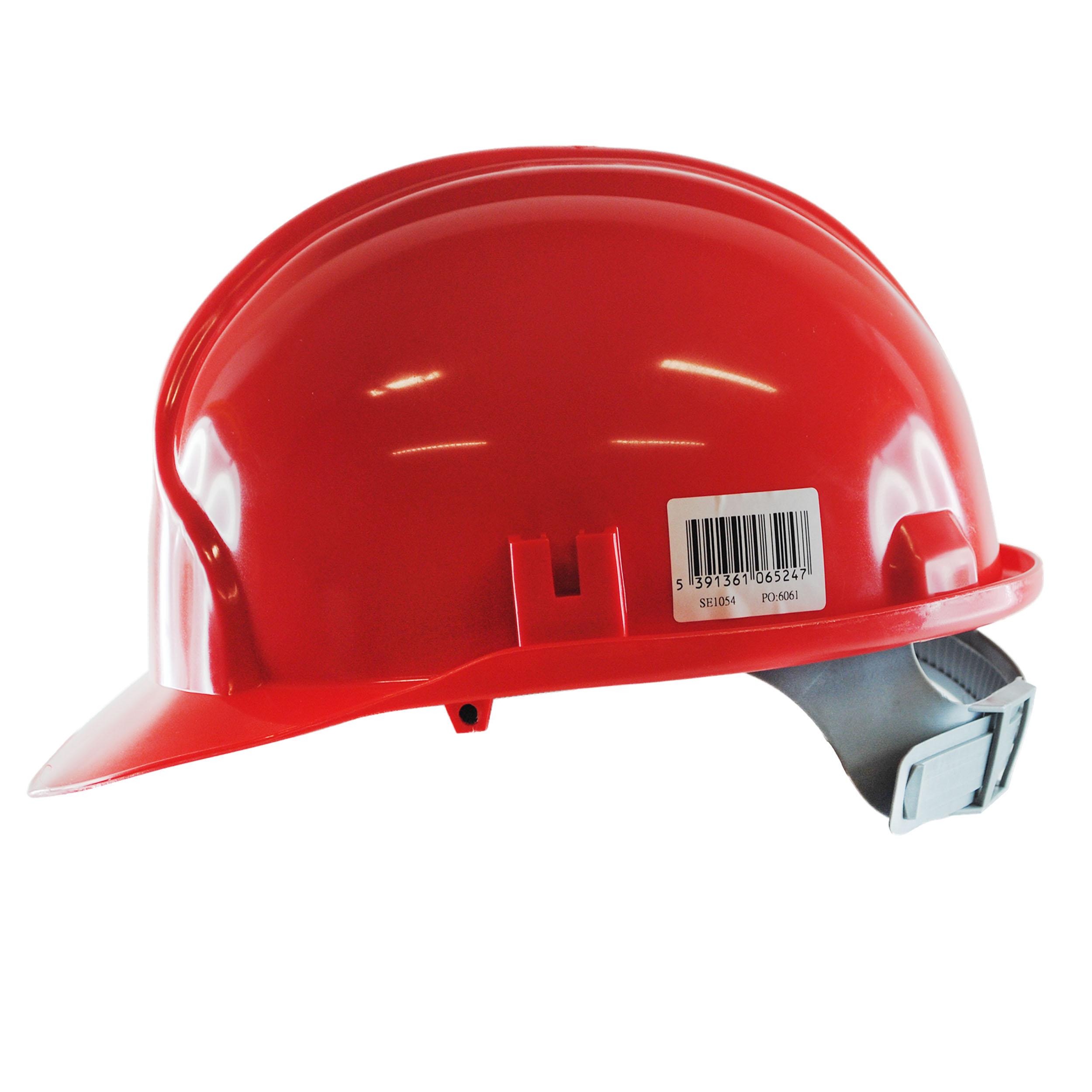 JSP Safety Helmet Red