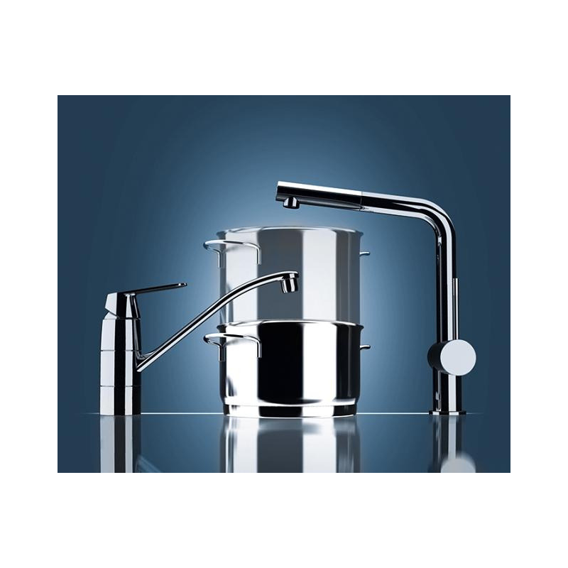 "GROHE BauEdge Single-lever kitchen sink mixer 1/2"""