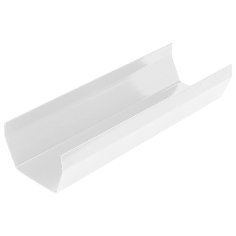 Square Gutter 4m White