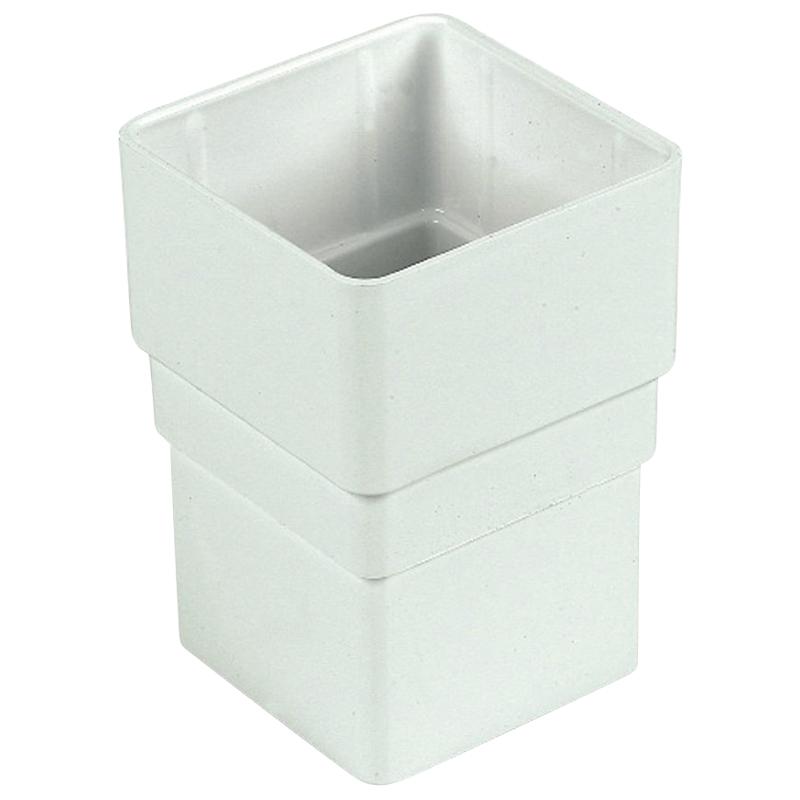 Square Socket White