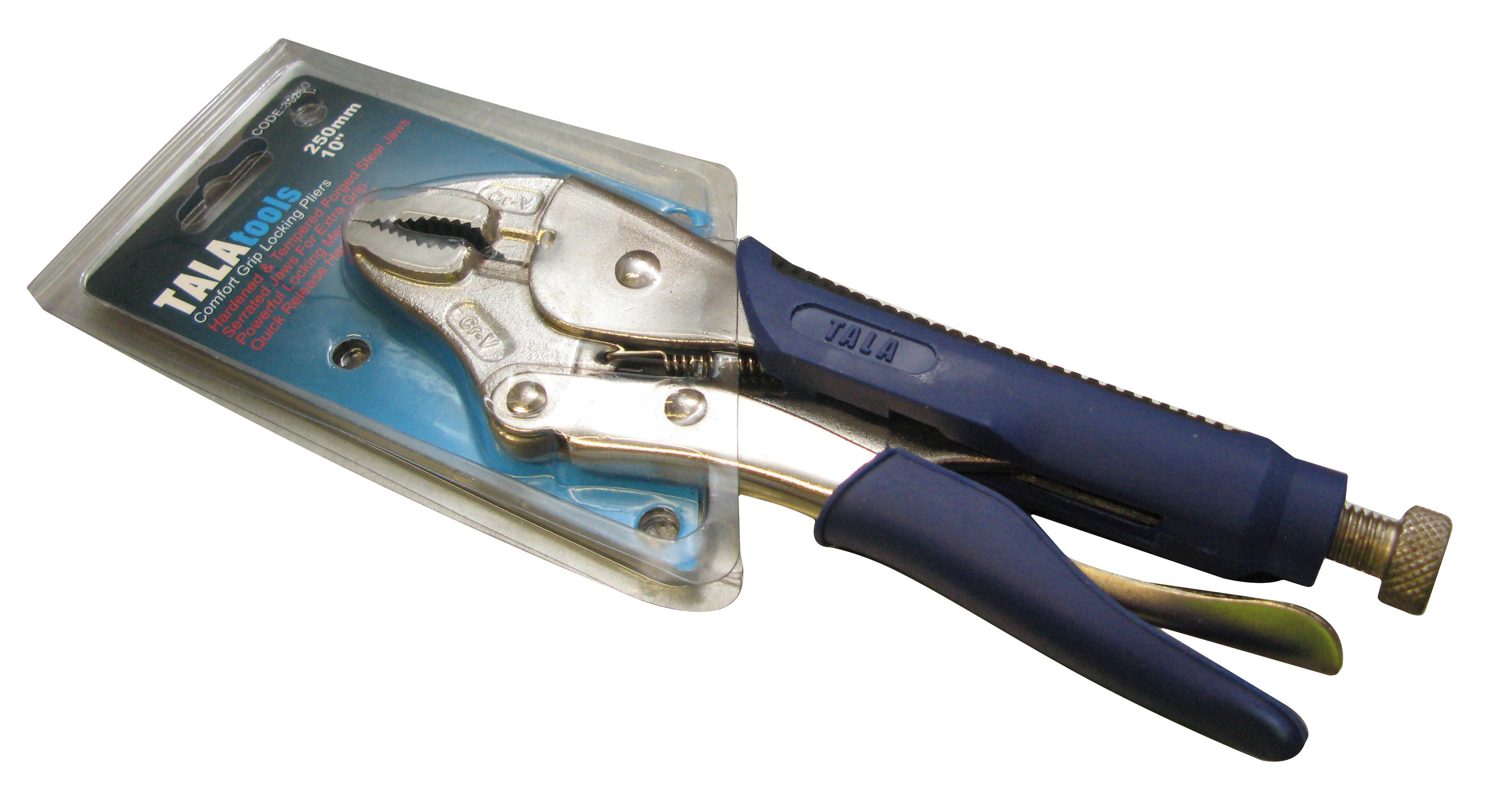 Soft Grip Locking Pliers