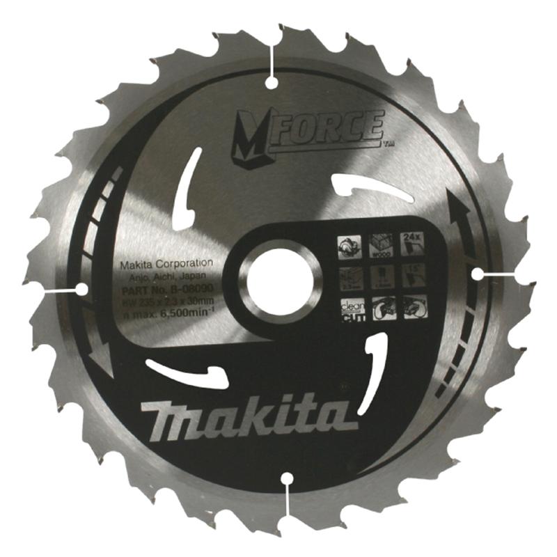 Makita CSMX16524E 165x24Tx20B 2K TCT Saw Blade
