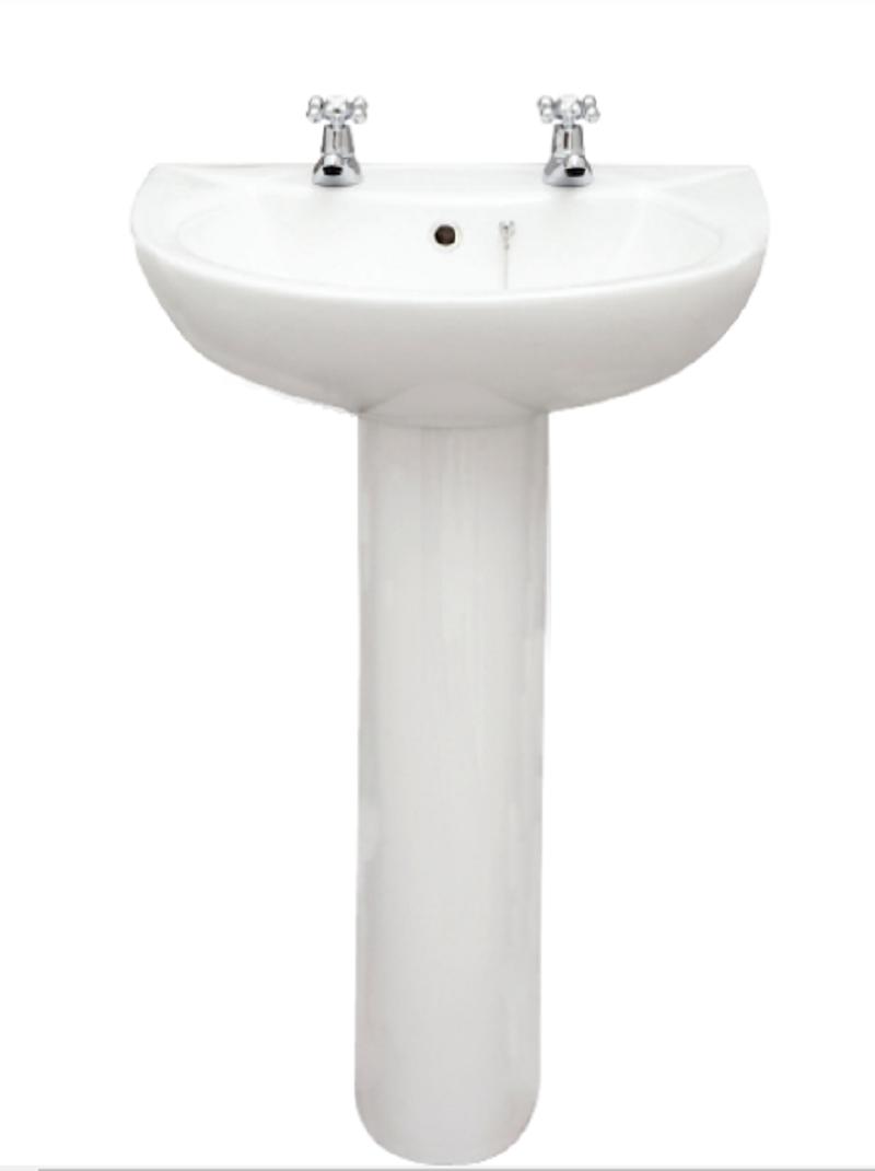 Strata Wash Basin 2 Tap Hole 485x390
