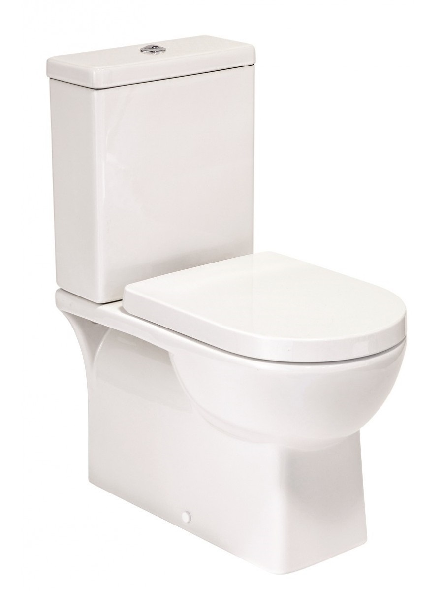 Denver C/C Fully Shrouded Wc Pack, Pan, Cistern, Seat