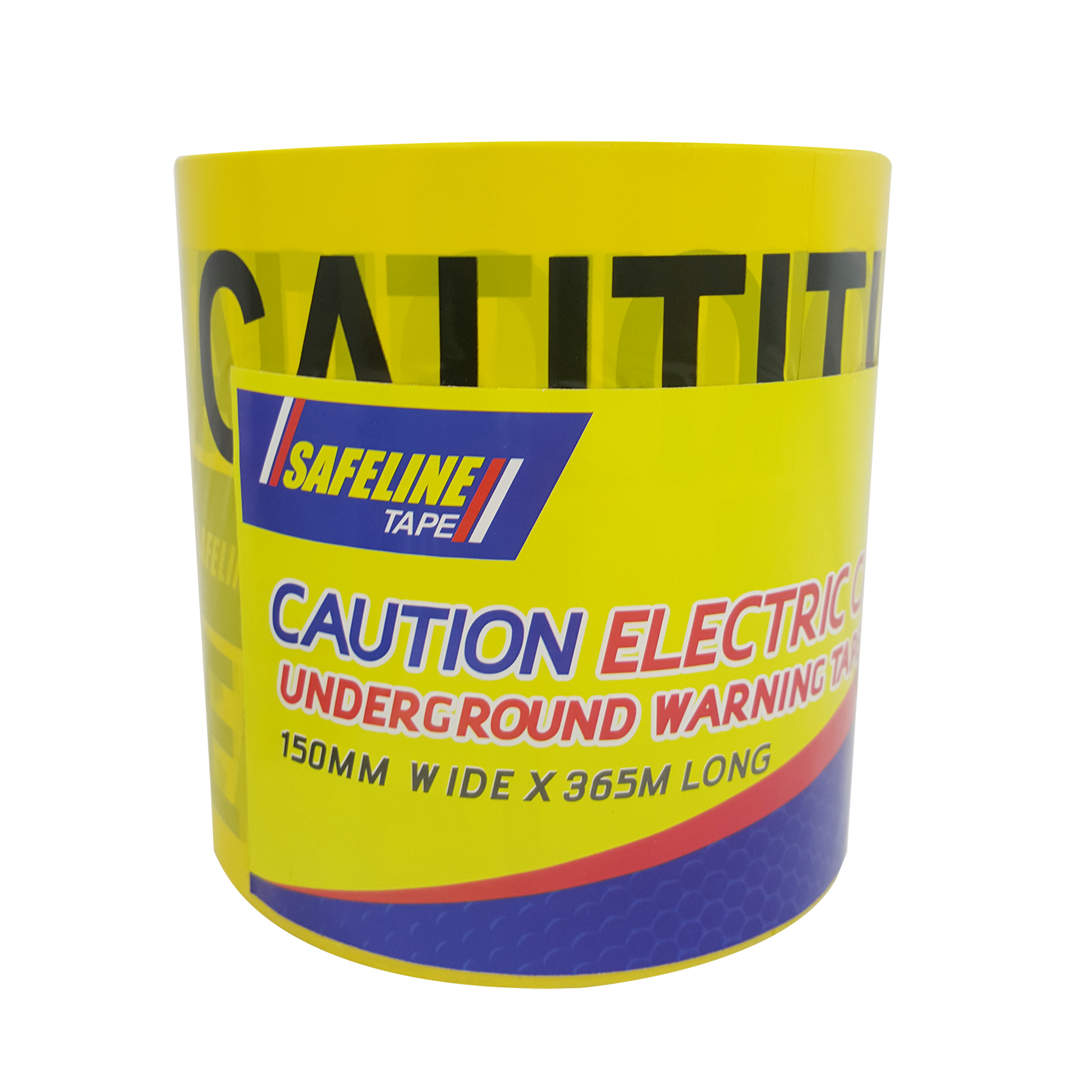 Electrical Cable Warning Tape  150mm x 365m