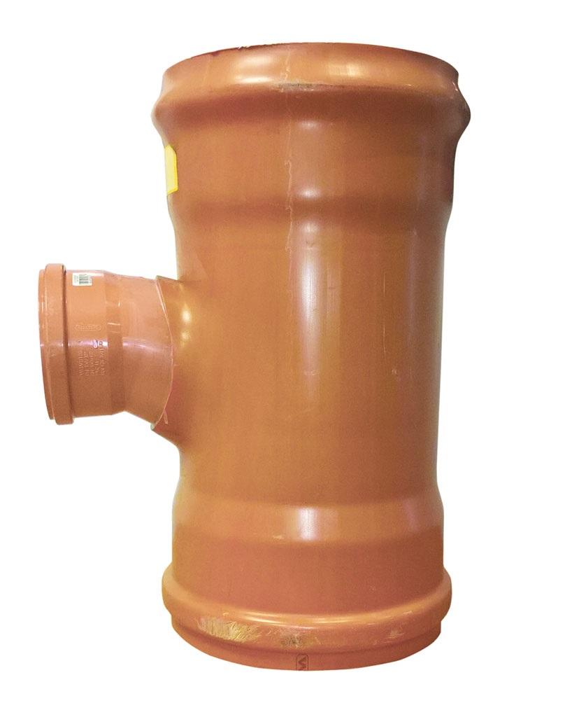 Sewer T 90 degreeree Double Socket 315x225mm