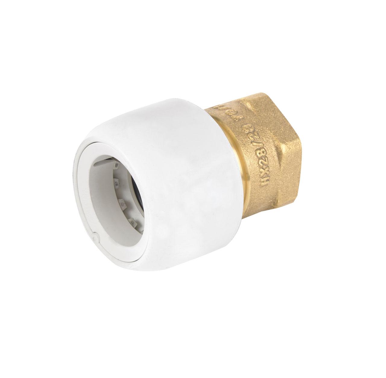 Adapt-Brass Female 3/4iBSP x 15mm Socket