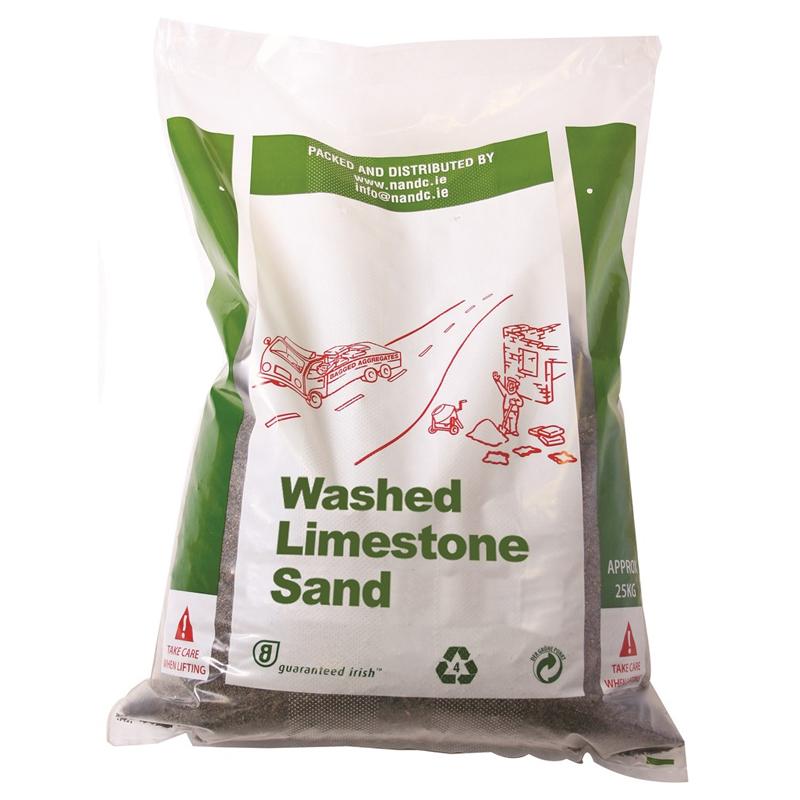 White Limestone Sand 25kg