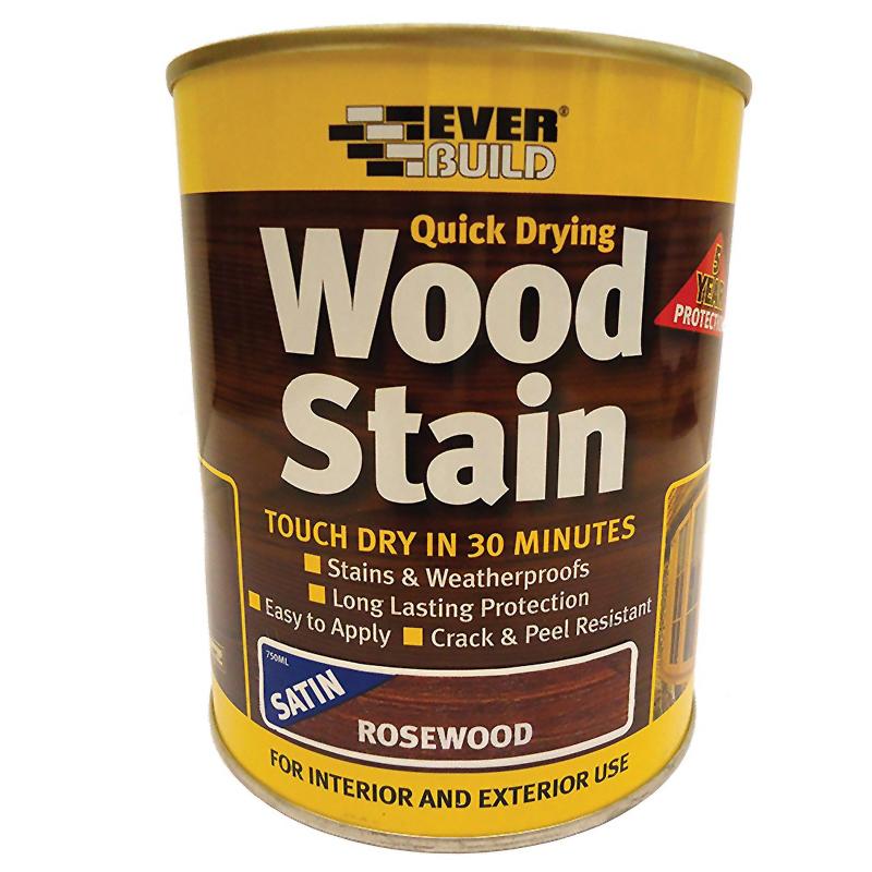 Woodstain Satin Rosewood 750ml