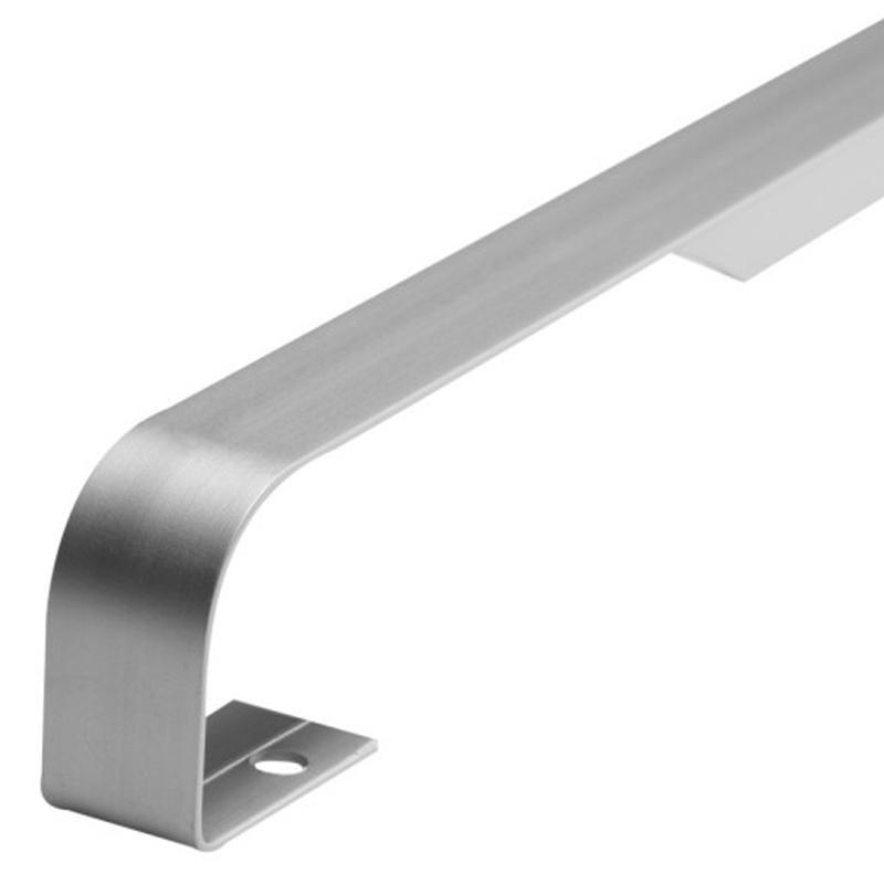 Worktop Butt Joiner 131P 40mm Aluminium