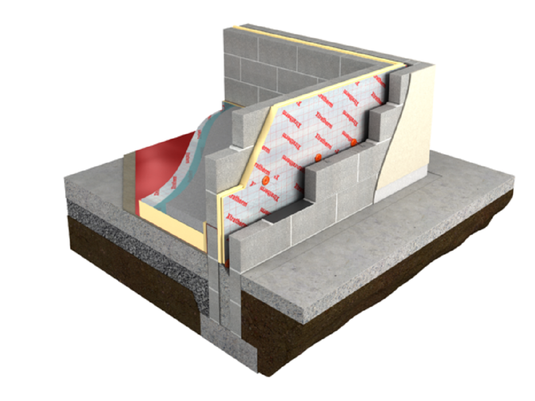 80mm Polyiso Cavity Wall Insulation Per Pack (2.7m2)