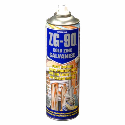 ZG-90 Cold Zinc Galvanising Spray 500ml