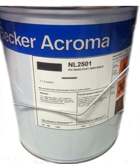 Becker Acroma Basecoat 2501 5L