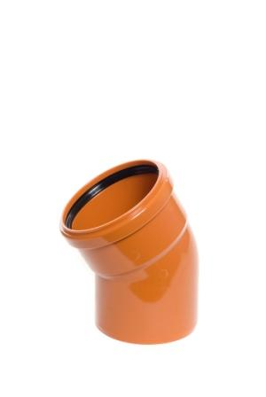Sewer Bend 30 Degree Single Socket 160mm