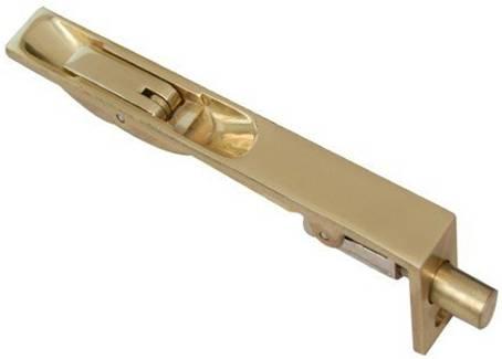 Slide Bolt 150mm Brass