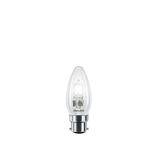 Philips Eco30 42W BC Candle Bulb Blister